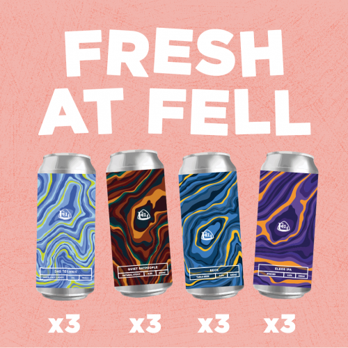 Four New Fresh Cans